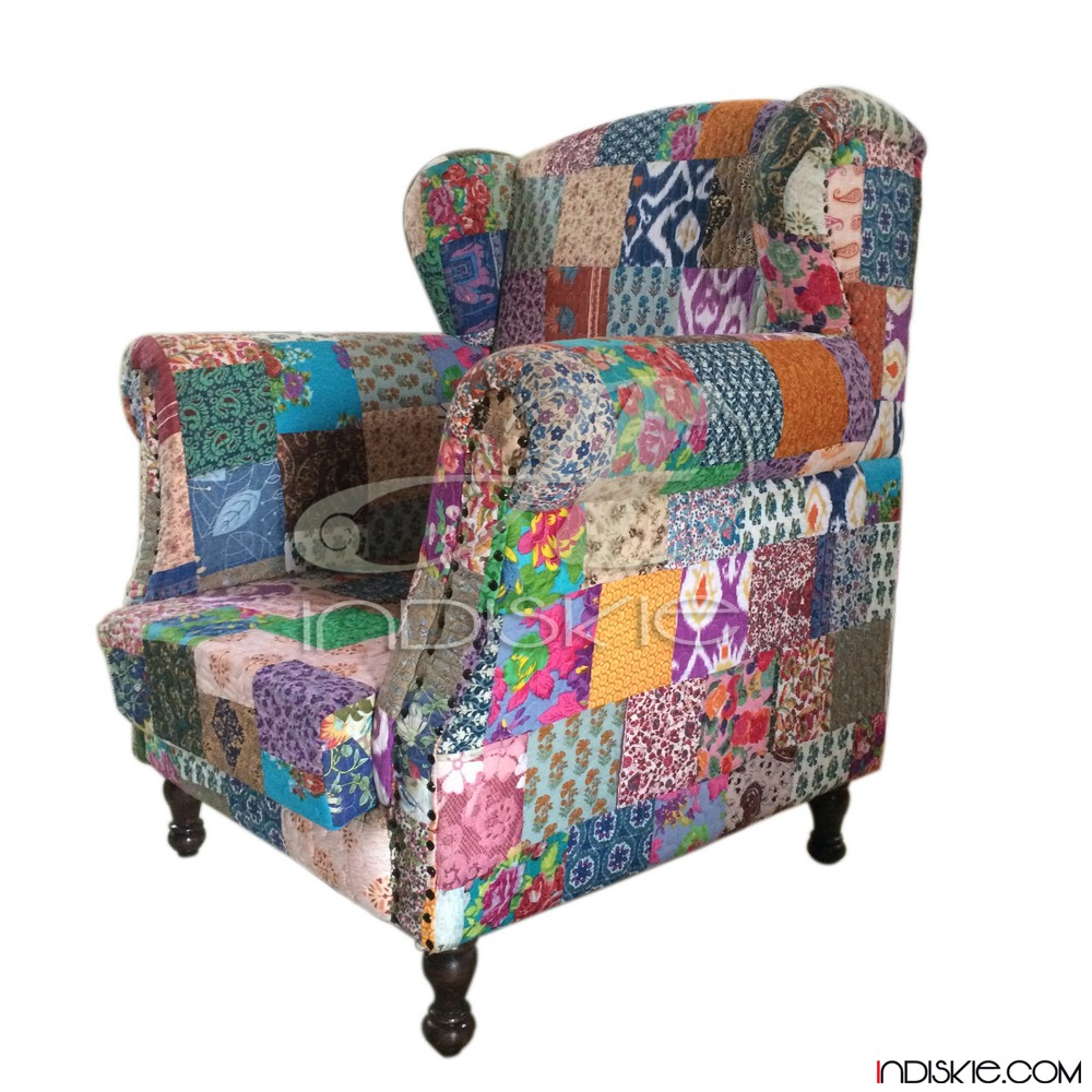 Kantha Sofa Patchwork Chairs Patchwork Chair Kantha Sofa Patchwork