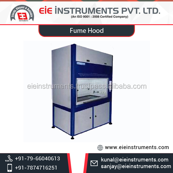 ISO Certified Range of Top Quality Laboratory Fume Hood at Affordable Rates