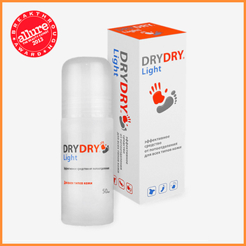 DRY DRY Light - Effective Roll-on deodorant for women