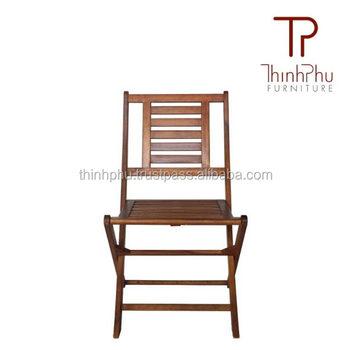 Folding Wooden Chair TPFC 16   Low Price Chair Garden Furniture Chair  Outdoor Indoor