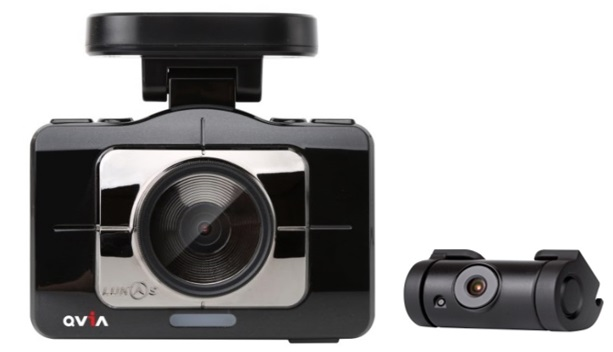 Qvia / Lukas R975 WD / 1080p High-End Full HD Dash Camera / Sony Image Sensor / Wi-Fi / Black Box / Built-in GPS /