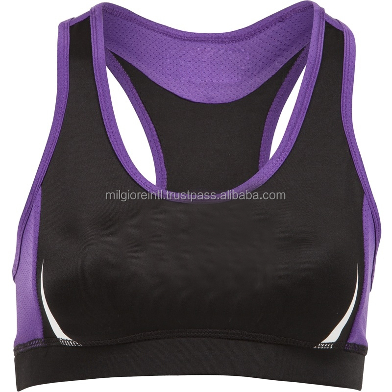 With 10 years experience manufacturer supply fitness gym bra wholesale plus size sport bra