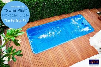 J.d.poold Thailand Fiberglass Swimming Pool - Buy Fiberglass Swimming  Pool,Composite Pool,Spa Pool Product on Alibaba.com