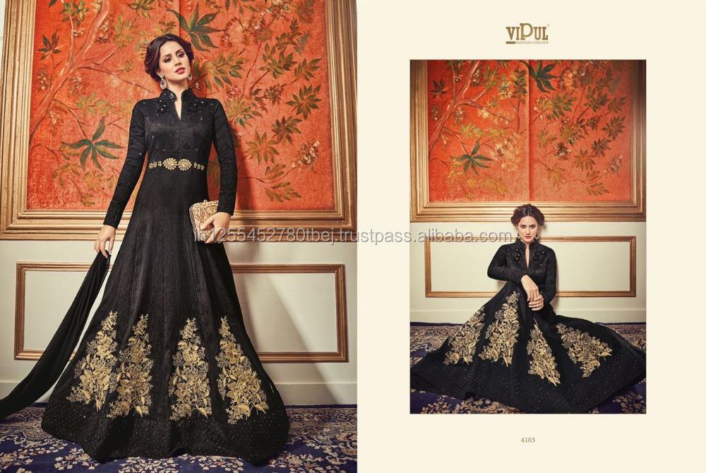 9f5408cb8821 Favoloso Elegante Abiti Indiani Anarkali Pakistani Indossare Abiti  Partito Punjabi Stile Abito Salwar Kameez ...