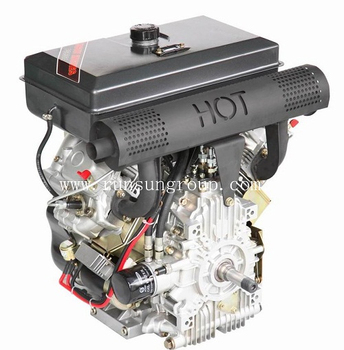 25 Hp Runsun Diesel Engine- Air Cooled 870 Cc Vee Twin Electric Start Iso  25 4 Mm Keyed Output Shaft - Buy Diesel,Engine,Hp Product on Alibaba com