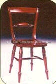 Mahogany Turn Back Chair Indoor Furniture