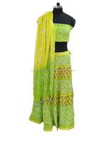 indian design cotton lehenga choli Simple And Beautiful
