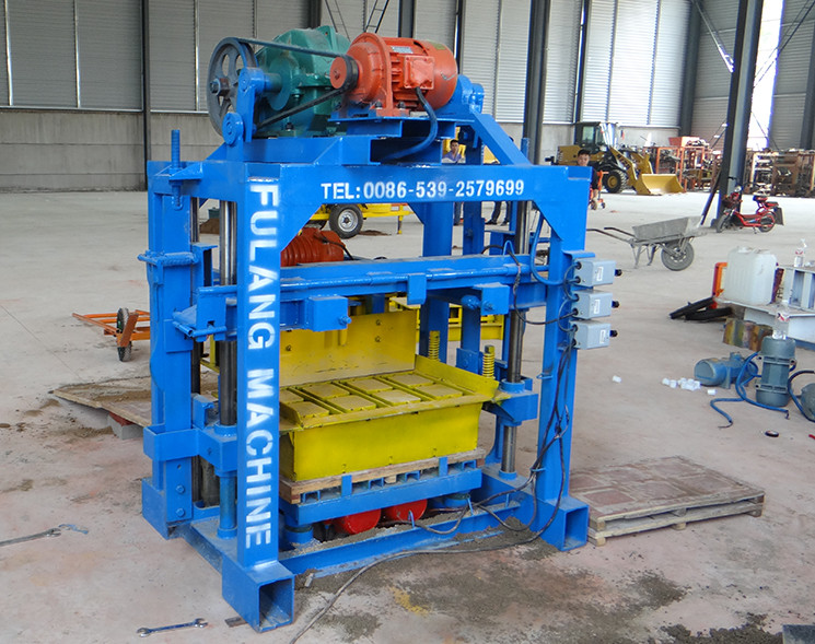 QTF40-2 handleiding blok machines beton cement holle/bestrating blok maken machine