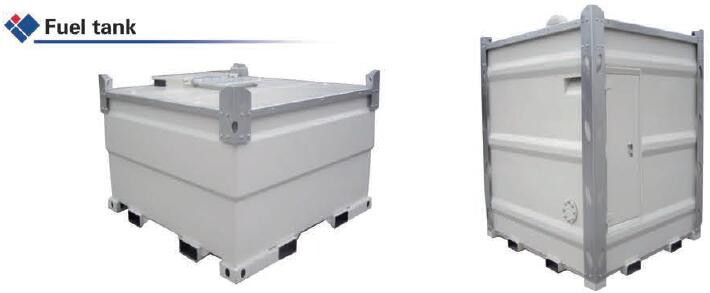 Special container with equipment container