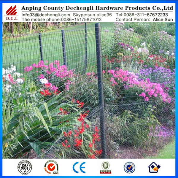 Plastic Deer Fence/bop Easy Gardener Deer Block Netting
