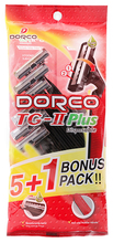<span class=keywords><strong>DORCO</strong></span> TG-II PLUS RASOIR JETABLE PACK 5 + 1