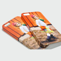 White Blank 3D Custom Sublimation Mobile Phone Back Cover Case