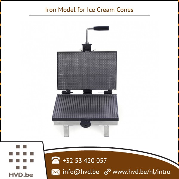 High Strength Robust Body Construction Waffle Cone Maker Available with Least Maintenance