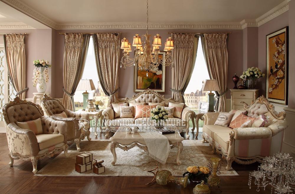 Sala De Estar Francais ~ Sala de estar Sofá de Madeira MaciçaSofás para sala de estar