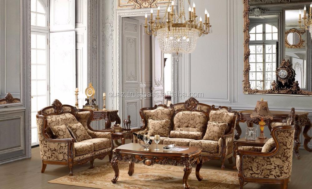 arabisch wohnzimmer mbel amerikanischen stil holz sofa set klassische italienische antike wohnzimmer mbel