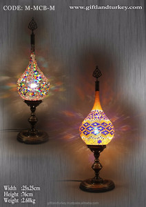 African Style Handmade Table Lamp Mosaic Rug Lamp