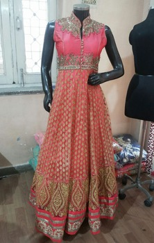 b1b3d2a7325 designer anarkali party wear frock style umbrella cut and straight suits