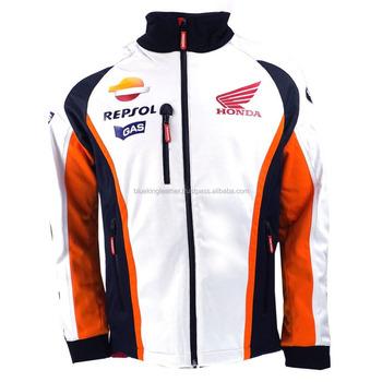 Milled Leather Shell Honda Pads Gp Team Jacket Safety Biker Leather Moto Motorbike Soft Kawasaki Repsol Buy Gas With Motorbike Jacket Soft Jacket tsQrhdxC