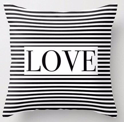 Square Cushion Cover/ Cotton Cushion Cover/ Pillow Cover/ Custom Printing Cushion Cover