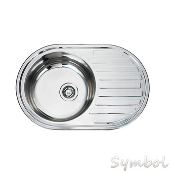 Small Round Stainless Steel Sink For Bathroom Vanity