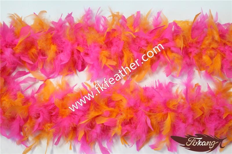 metros de g al por mayor de turqua boa de plumas para la boda decoracin