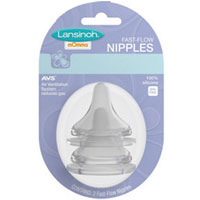 Fast Flow Nipples, 2 COUNT by Lansinoh