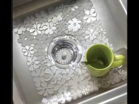 Kitchen Sink Mats With Drain Hole
