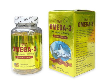 OMEGA - 3 - Food supplement from Viet Nam, enhancing intellectual & anti-degeneration of brain