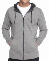 New Arrival Custom Made High Quality Zipper Men Cotton Fleece Hoodie With Your Own Logo
