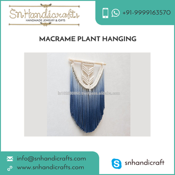High Efficient Sturdy Design Macrame Plant Hangers Available in Different Size