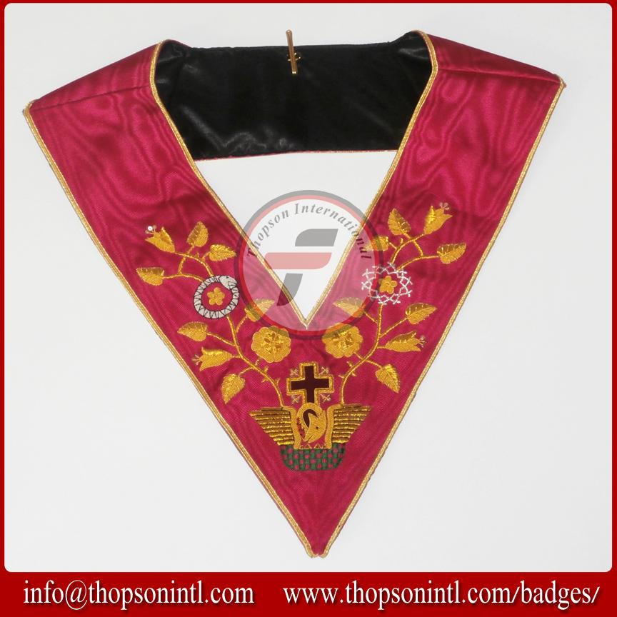 Masonic Rose Croix 18 Degree Collar