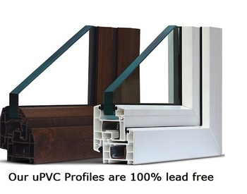 High Quality UPVC Profiles For Windows And Doors
