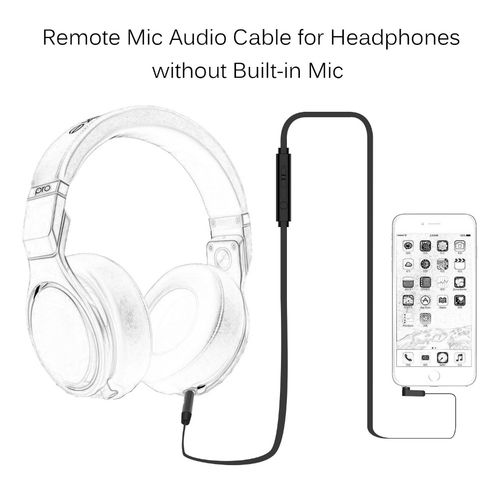Jabees Audio Streaming Auxiliary Built In Remote Stereo 3.5mm ...