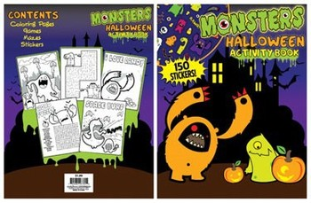 HALLOWEEN COLORING BOOK #026760L