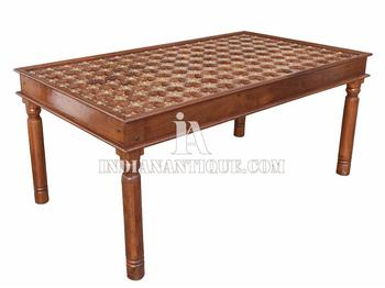 indian carved dining table. indian wooden furniture imperial hand carved brass work solid dining table from indianantique ia indian carved dining table