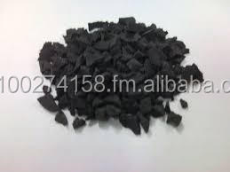 recycled rubber granules