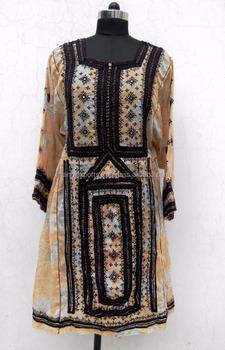 ca0a1d48d3 Beautiful hand embroidery vintage boho clothing banjara balochi dresses