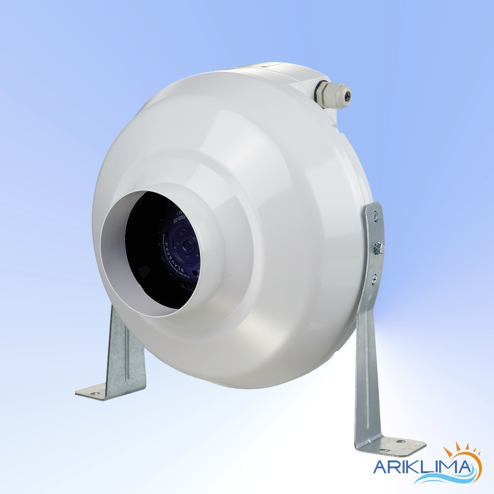 plastic plastic top quality 8 inch inline duct fan for home used with ce  plast-vk