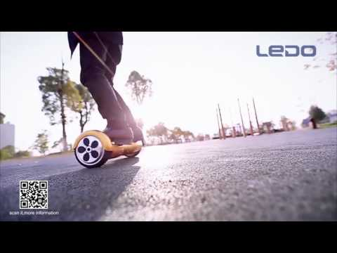 LEDO Hot sale 6.5 inch Two wheel self balancing electric scooter with Bluetooth and remote control