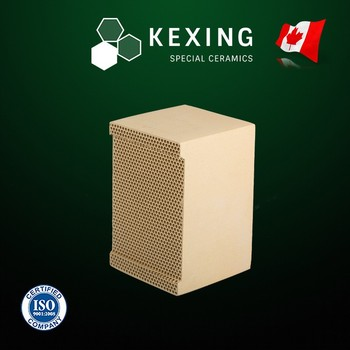 Compound of Cordierite and Mullite Monolith Honeycomb ceramic regenerator for RTO RCO