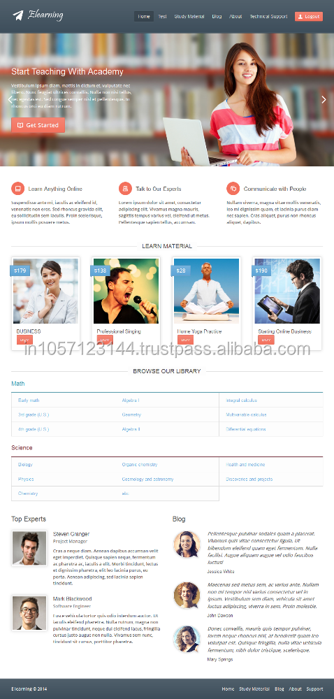 Industrial/ Hospital/ Educational website design in india