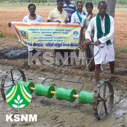 Hand Operated Seeding Sowing Machine