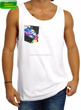83233bb971a217 Trendy Mens Boys Tank Top Plain Sando Workout Pocket Fit Singlet Sleeveless  Logo Casual High Quality