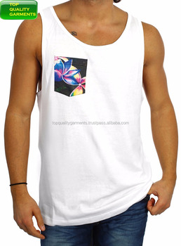 0e27235d60555 Trendy Mens Boys Tank Top Plain Sando Workout Pocket Fit Singlet Sleeveless  Logo Casual High Quality
