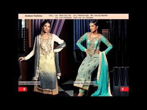 Indian Trouser Suit - Andaaz Fashion
