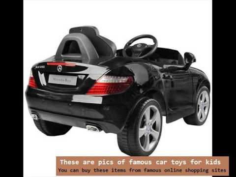 Kids Electric Car | Mercedes Benz Slk 6V Electric Power Ride