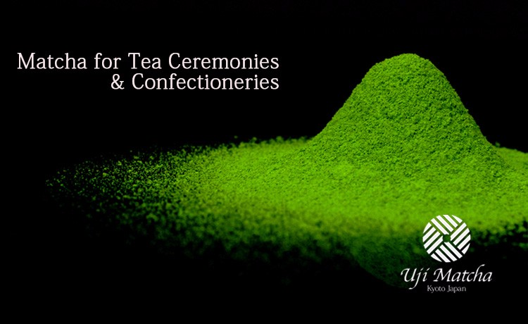 Kyoto Uji Mattha Japan's top-grade brand  the No.1 market share matcha for confectioneries