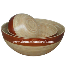 Best quality eco-friendly traditionally handmade Vietnam spun bamboo thanksgiving gifts