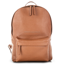 Wholesale 2017 trending products New premium Genuine Leather Trendy Backpack Laptop Bag from manufacturer