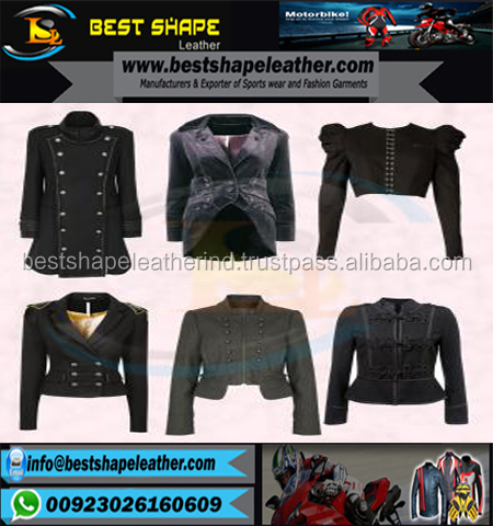 2017 New Arrival Wholesale Jackets/Ladies Fashion Design Leather Jacket